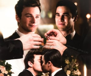 couple, kurt hummel, and love image