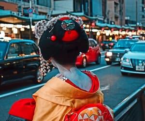 beautiful, geisha, and girl image