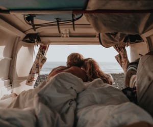 Caravan, cute couples, and relationships image