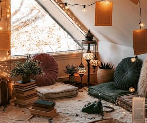 home, light, and cozy image