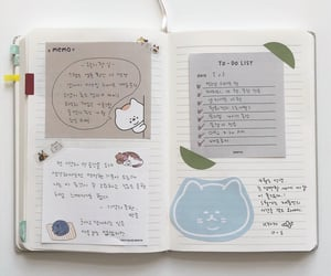 journal, notebook, and bullet journal image