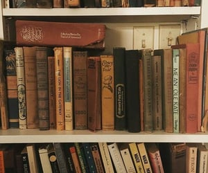 books, vintage, and aesthetic image