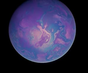 planet and purple image