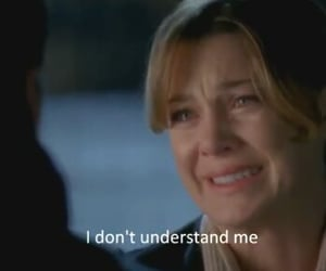 derek, meredith, and grey's anatomy image