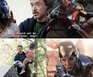 Avengers, family, and ironman image