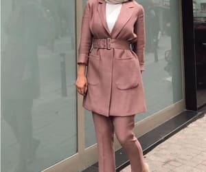 blazers, formal hijab, and hijab with blazers image