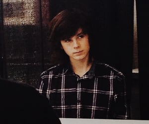 chandler, the walking dead, and chandler riggs image