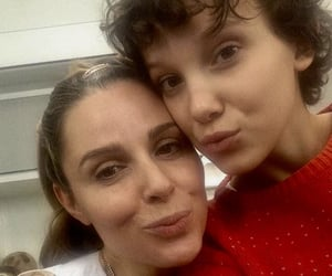 millie bobby brown and stranger things image