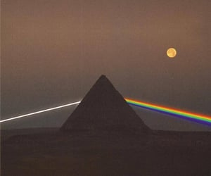 Pink Floyd, moon, and music image