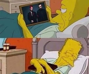 me, mood, and the simpsons image