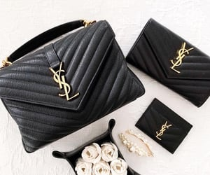bags, luxury, and roses image