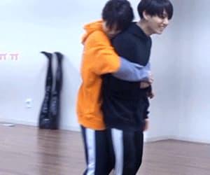 gif, jeon jeongguk, and jikook image