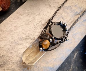 etsy, ofelway, and long necklace image
