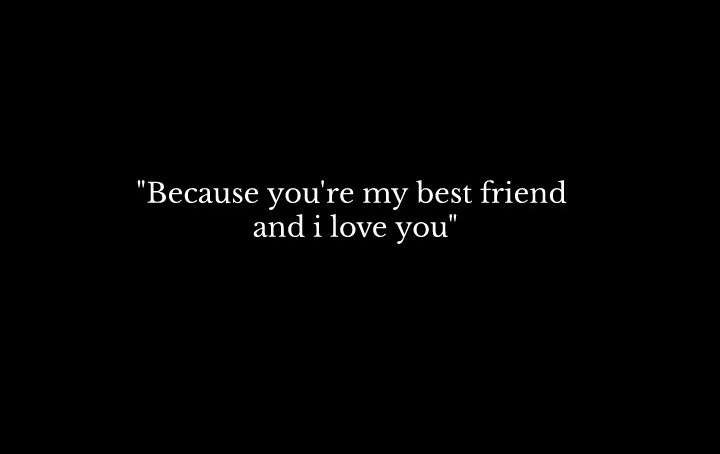 best friend, I Love You, and quote image