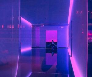 neon, purple, and aesthetic image
