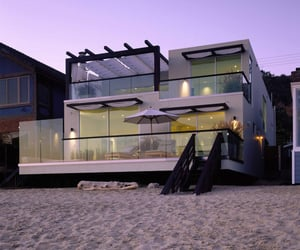 beach, home, and house image
