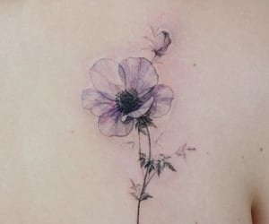 body art, Fleurs, and flowers image
