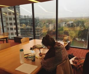 girl, study, and motivation image