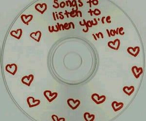 love, quotes, and cd image