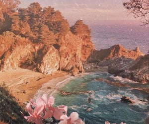 aesthetic, lagoon, and nature image