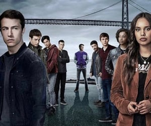 cover, season 3, and thirteen reasons why image
