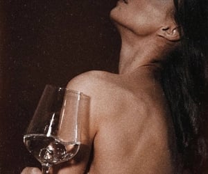 girl, party, and wine image