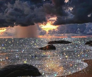 glitter, beautiful, and ocean image