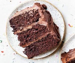 chocolate, cake, and sweets image