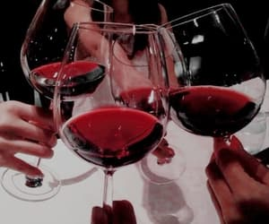 wine, red, and theme image