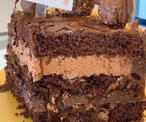 bakery, cake, and chocolate cake image