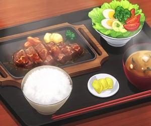 Resultado de imagem para anime food