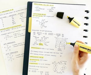 chemistry, goals, and notes image