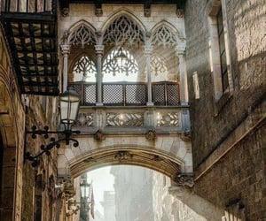 Carrer Del Bisbe , Barrio Gotico , Barcelona