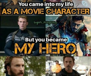Marvel, quotes, and endgame image