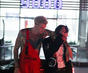 ️mgk and yungblud image