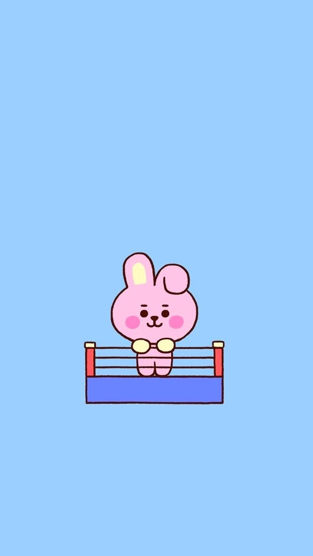 Image About Kpop In Bt21 Wallpaperslockscreens By Her Name