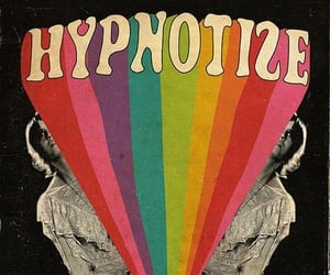 hypnotize, rainbow, and colors image