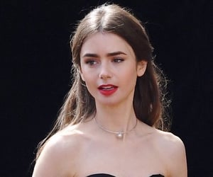 lily collins and girls image