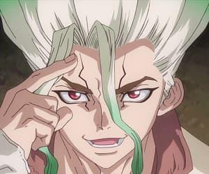 anime, anime boy, and dr stone image