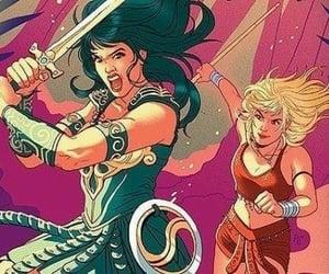 princess, warrior, and xena image