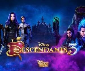 disney, movie, and descendants image