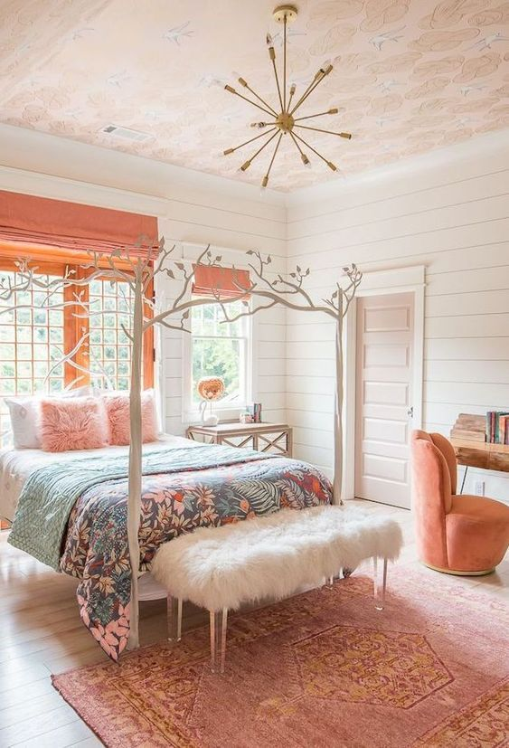 Teenage Girl Bedroom Colour Ideas On We Heart It