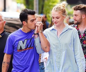 Joe Jonas and sophie turner image