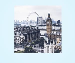 aesthetic, blue, and city image