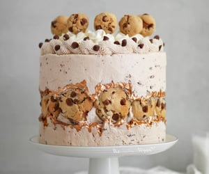 Chocolate chip cookie fault line cake   Ft DeDietrich   The Little Blog Of Vegan