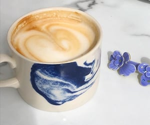 blue, china, and coffee image