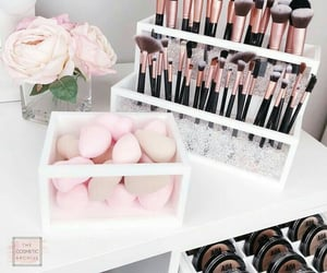makeup, Brushes, and tumblr image