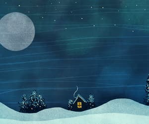 animation, winter solstice, and christmas image