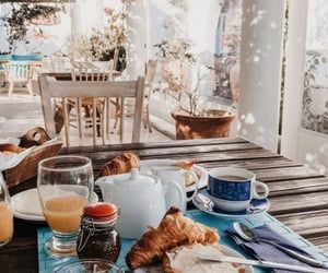 food, breakfast, and morning image