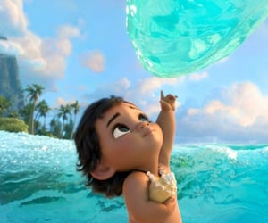 disney, pixar, and moana image